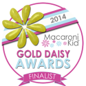 2014 Macaroni Kid Gold Daisy Awards
