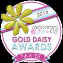 2014 Macaroni Kid Gold Daisy Awards